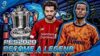 FINAL VS. SALAH! | PES 2020 Become A Legend w/Newcastle United! | Episode #3