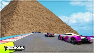 RACING IN PYRAMIDS! - GTA 5 Funny Moments #680