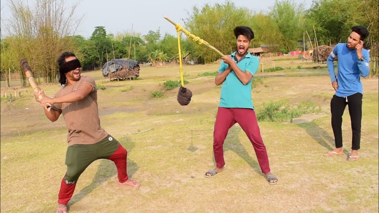 Must Watch New Funny Video 2021 Comedy Video 2021 try to not lough challenge By Bindas fun bd