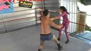 Brutal wife  Undertaker - Mixed Wrestling