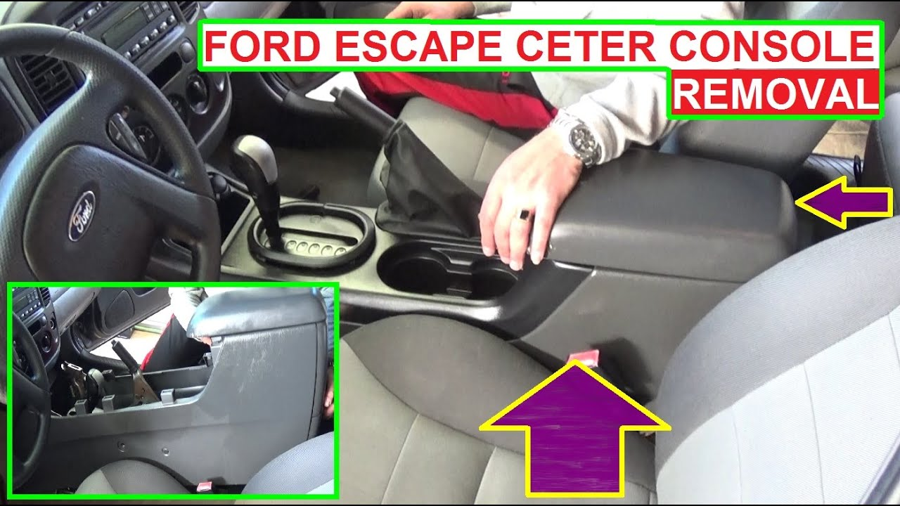 maxresdefault ford escape center console removal and replacement 2001 2002 2003  at webbmarketing.co