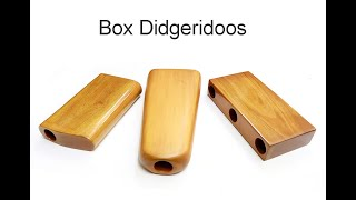 Didgeridoo Box Comparison