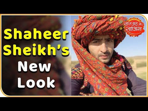 Here's a glimpse of Shaheer Sheikh's new look