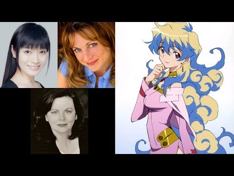 Anime Voice Comparison- Nia Teppelin (Gurran Lagann)