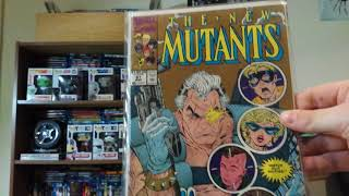 Marvel Monday #2 - The New Mutants No. 87 + A Special 4th Comic