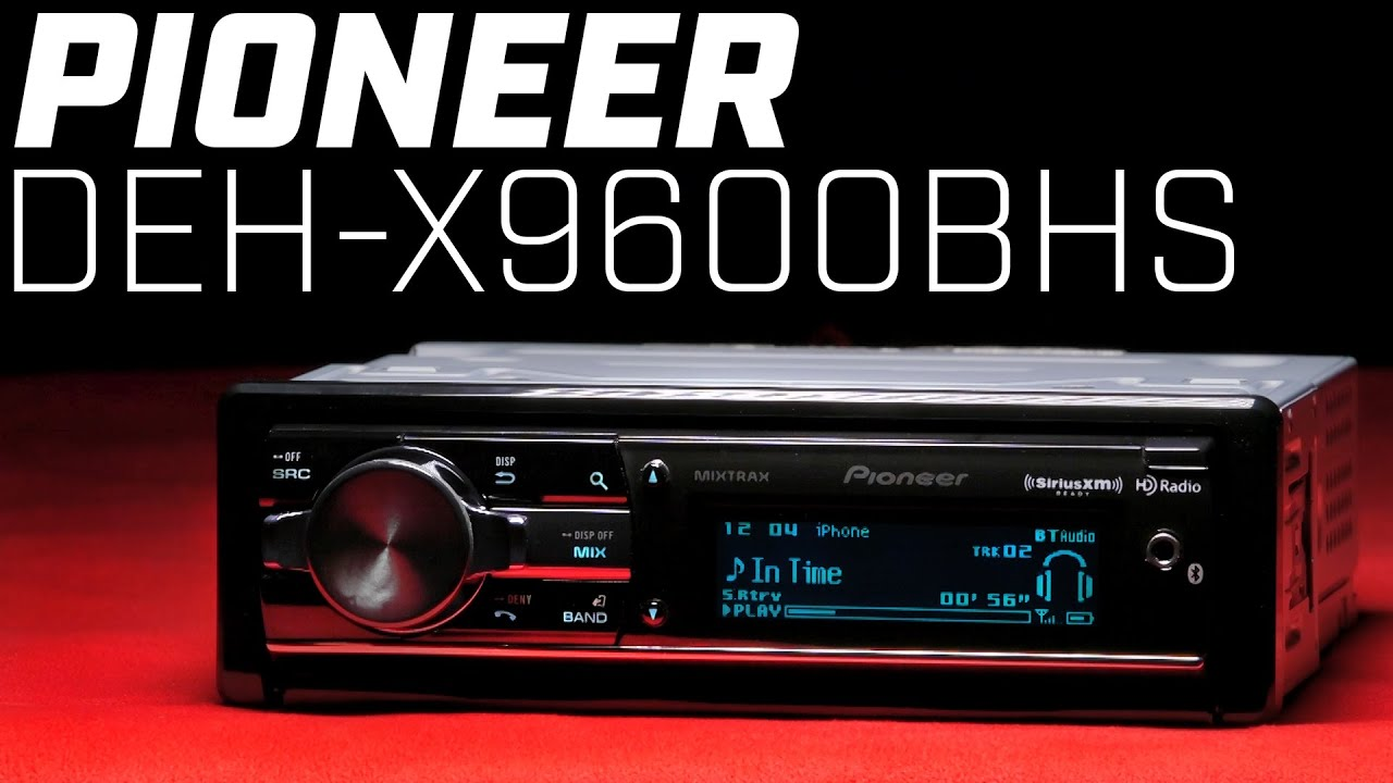 Pioneer Deh X Bhs Bluetooth Single Din