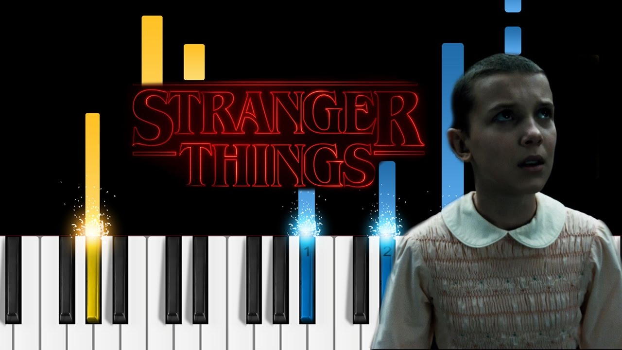 Stranger Things Theme - Piano Tutorial - how to play the
