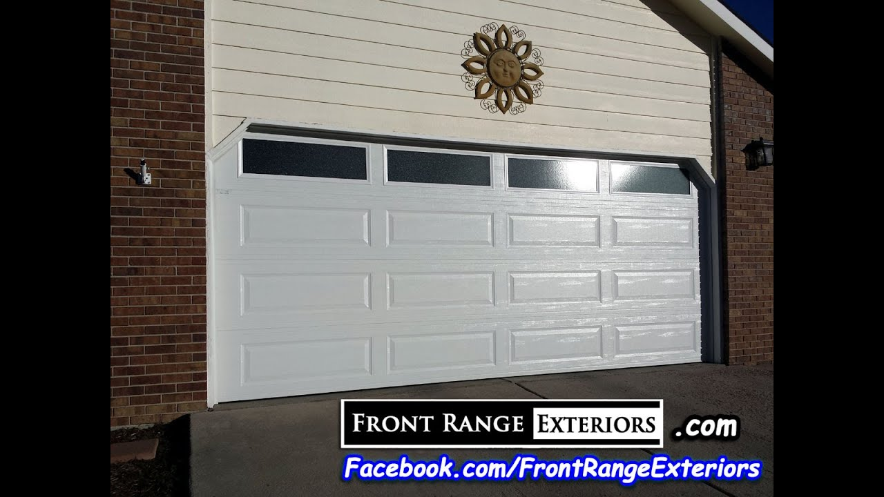 Exceptionnel Colorado Springs Overhead Door Replacement   Front Range Exteriors   Amarr Garage  Door Contractors   YouTube