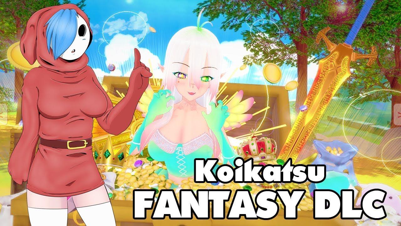 Koikatsu Fantasy DLC announcement [ILLUSION H-GAME]