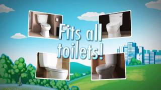 30 seconds of CitiKitty - the Amazing Cat Toilet Training Kit