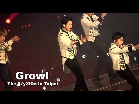 180211 The ElyXiOn In Taipei Growl Chanyeol Focus