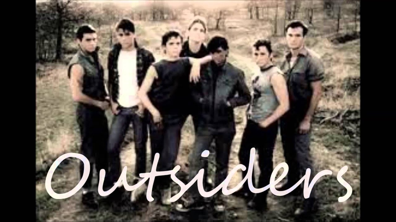 book report on the outsiders Dallas raymond dally winston was a greaser, the tritagonist of the outsiders, and a member of the gang in the books, dallas winston is said to have an elfish.
