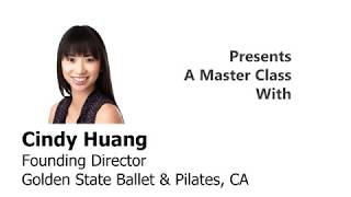 Cindy Huang of Golden State Ballet & Pilates - FOAM ROLLER PILATES MAT CLASS - Ballet En Demand