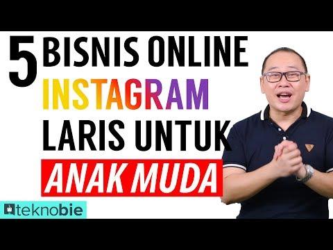 5 Bisnis online Instagram laris buat Anak Muda