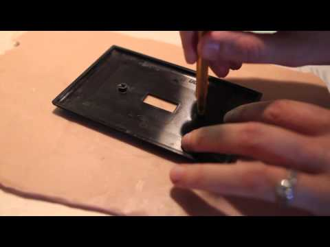 One Minute Tips: How To Make A Molded Light Switch Plate (with Katie Deedy)