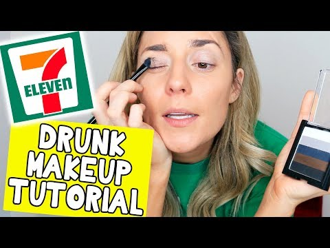 DRUNK 7-ELEVEN MAKEUP TUTORIAL // Grace Helbig