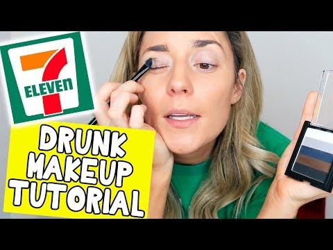 Download Youtube: DRUNK 7-ELEVEN MAKEUP TUTORIAL // Grace Helbig