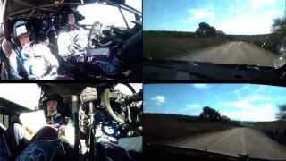 Novikov vs. Ostberg Onboard SS09; WRC Philips LED Rally Argentina 2013