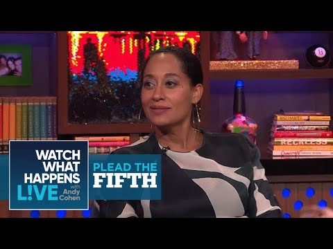 Tracee Ellis Ross Tells What Diana Ross Song She'd Skip | Plead the Fifth | WWHL