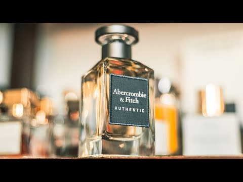 NEW ABERCROMBIE & FITCH AUTHENTIC FRAGRANCE REVIEW | THE NEW HYPE