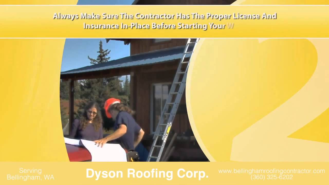 Dyson Roofing Corp Roofing Contractor In Bellingham Wa
