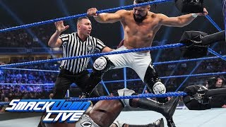 Apollo Crews vs. Andrade: SmackDown LIVE, July 16, 2019