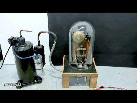 Interesting vacuum chamber