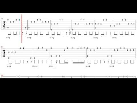 Love Story Theme EASY TAB For Guitar (Francis Lai)