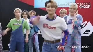ATEEZ dancing to girl groups/girl solo artists songs