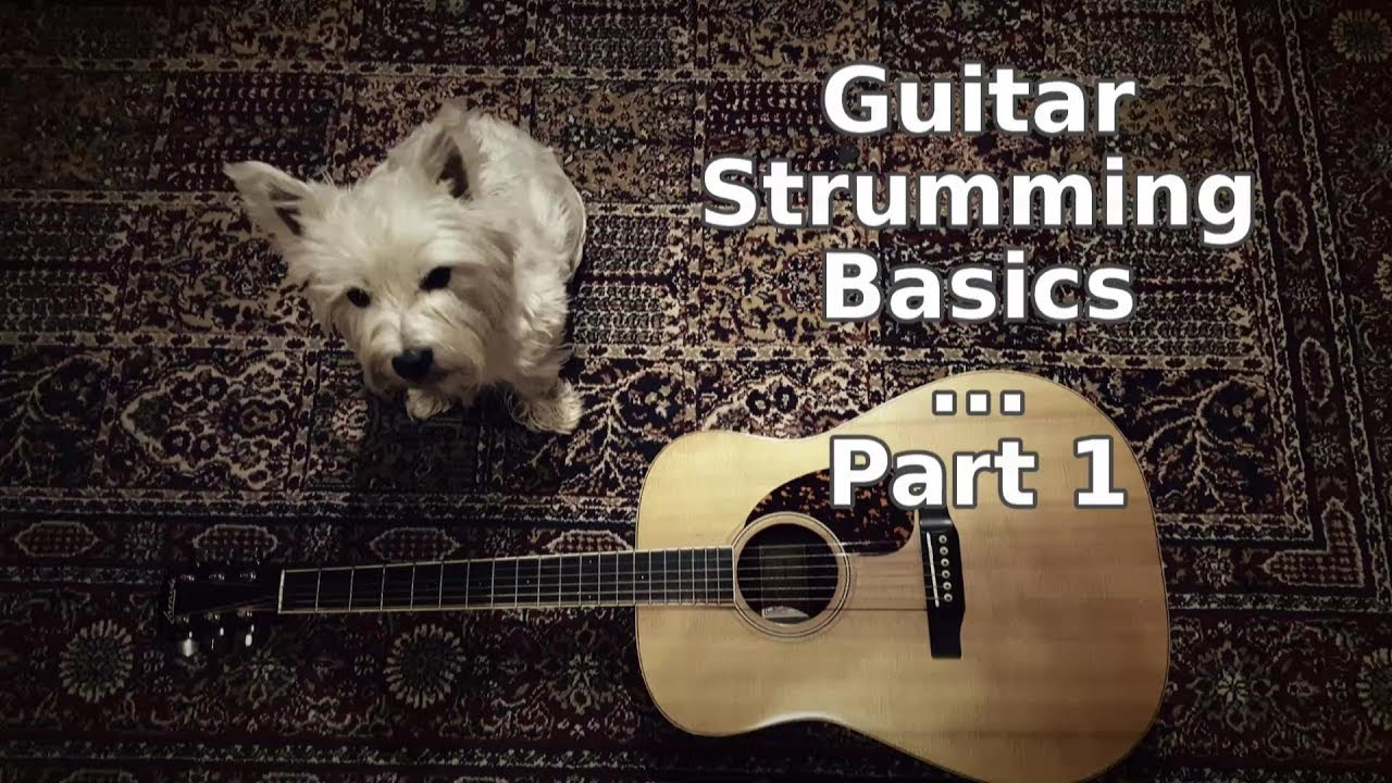 Guitar Strumming Basics Video - Part 1