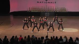 WCE Nationals 2019 Small Female Hip Hop Gold Torrey Pines