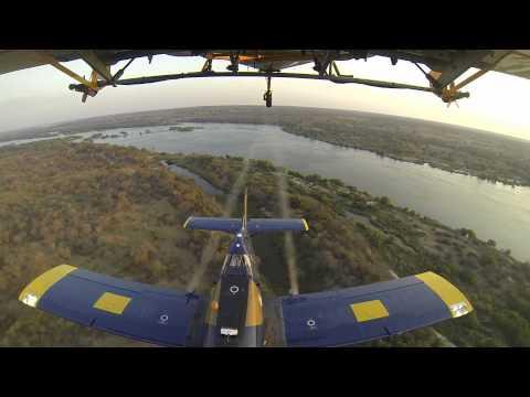 Aerial Spraying for Tsetse fly