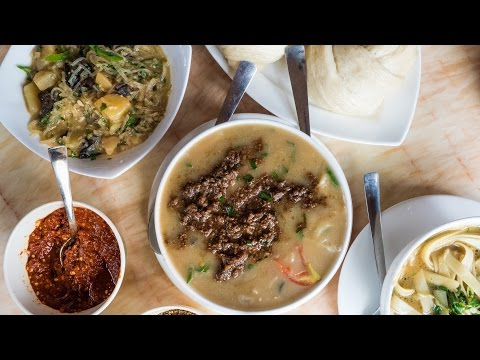 Tibetan Food in Thimphu - Bhutan Food and Travel Guide (Day