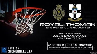 The Annual Royal-Thomian Basketball Encounter - 2017