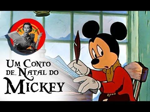 Um Conto de Natal do Mickey - duas dublagens Herbert Richers (VHS e DVD)