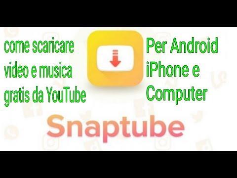 Come scaricare musica e video da YouTube gratis.