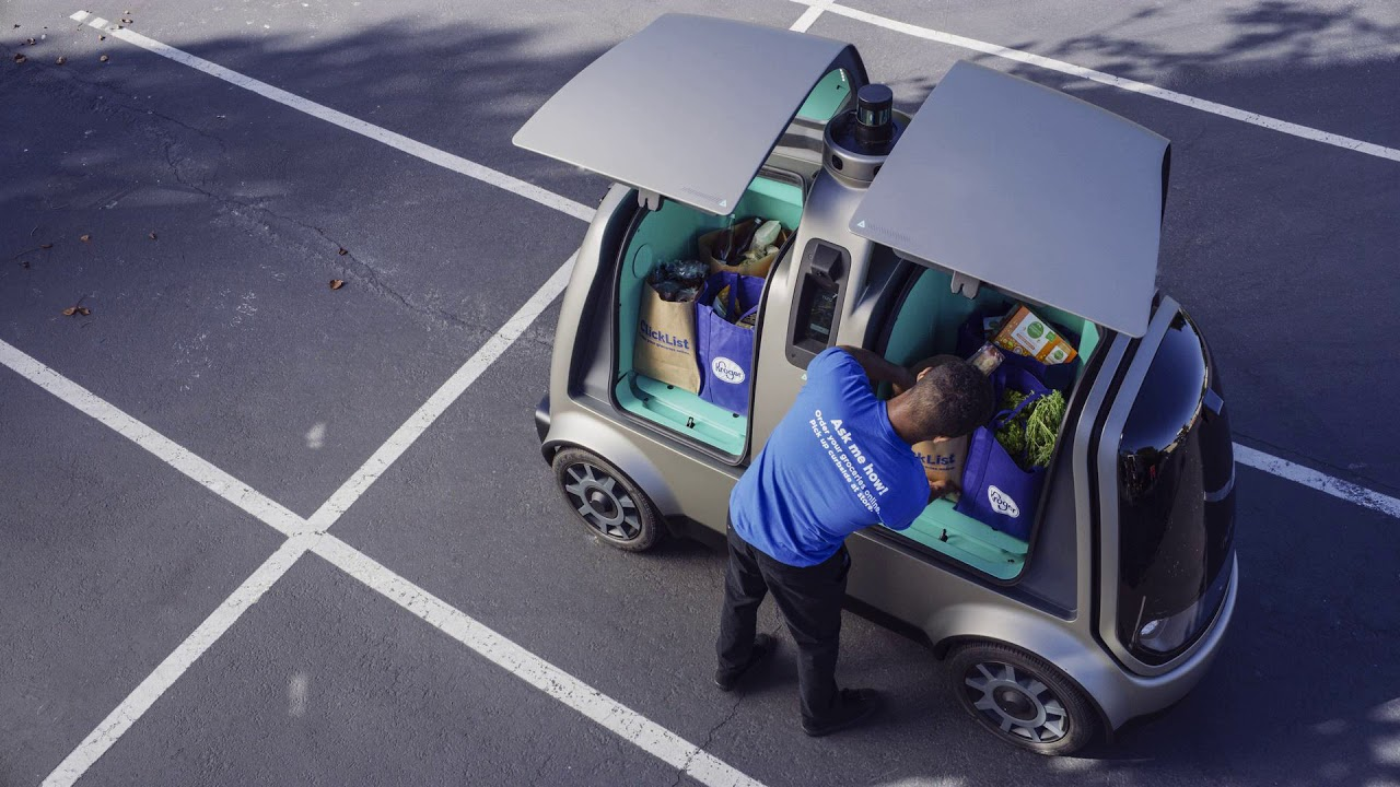 Nuro and Kroger are deploying self-driving cars for grocery delivery in Arizona today