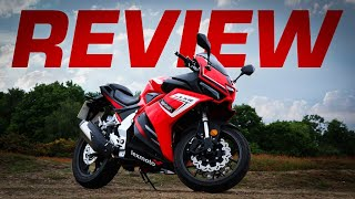 125cc *Sports Bike* Review: Lexmoto LXR SE 125 2019!