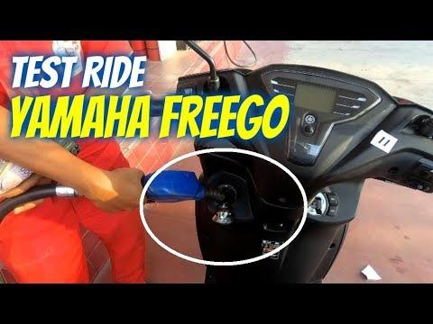 Test Ride Yamaha FreeGo, Isi BBM Ngak Perlu Repot Dan Tidak Jinjit !