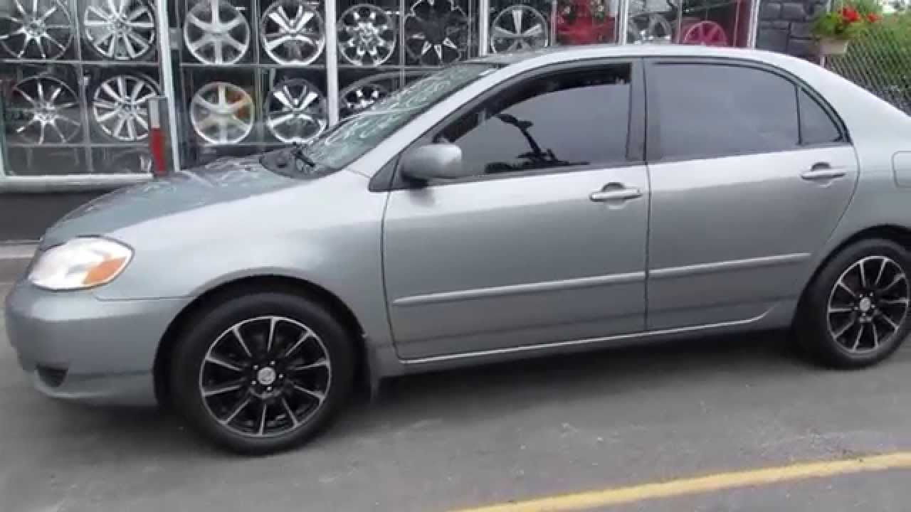 Hillyard wheels 2003 toyota corolla with 16 inch custom machined rims barum bravuris 3hm tires youtube
