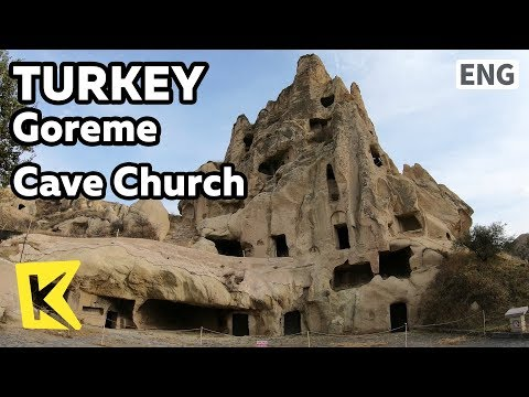 【K】Turkey Travel-Goreme[터키 여행-괴레메]동굴 교회/Cappadocia/Kapadokya/Uchisar/Kekligin Castle/Cave/Church