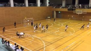 2016年九州学生ハンドボールリーグ春季大会 九産大対沖縄国際大