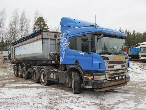Седельный тягач Scania P400 CA6x4HSZ 2013 года