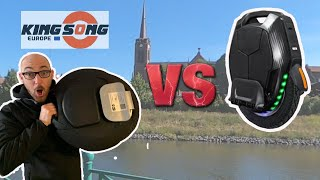 kingsong KS16X vs KS16S gyroroue Comparatif test avis ks 16S 16X concurrente V8 inmotion meilleur