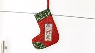 Bota Do Papai Noel – Enfeite De Porta com Arte de Paninho