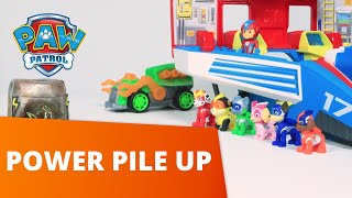 PAW Patrol  Power Pile Up  Mighty Pups Toy Episode  PAW Patrol Official amp Friends