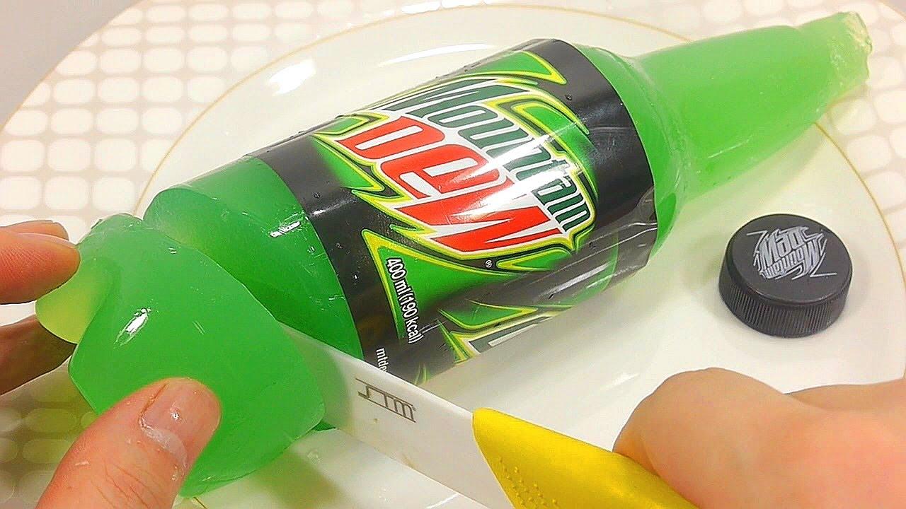 Sådan fremstilles ægte bjergtægg drikkevand budding gelé-7767