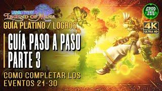 Legend of Mana | Guía paso a paso Trofeo Platino / Logros (Parte 3 - Eventos 21-30)
