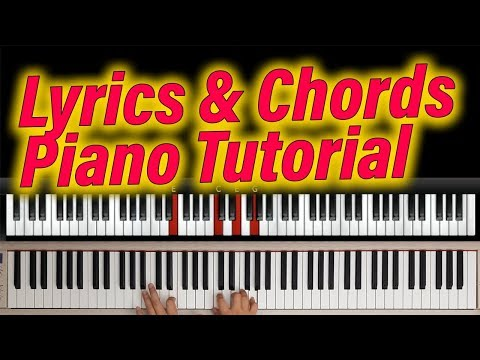 STILL (Hillsong) - Lyrics & Chords. Easy Worship Piano Tutorial. Free Sheet Music.
