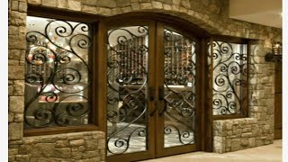 Strong iron grill doors for modern homes